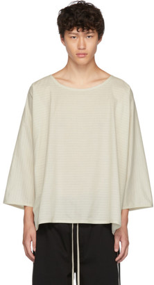 Off-White Jan-Jan Van Essche Striped Tunic T-Shirt
