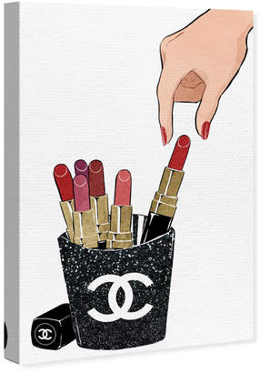 Oliver Gal Lipstick Fries By By The Artist Co.