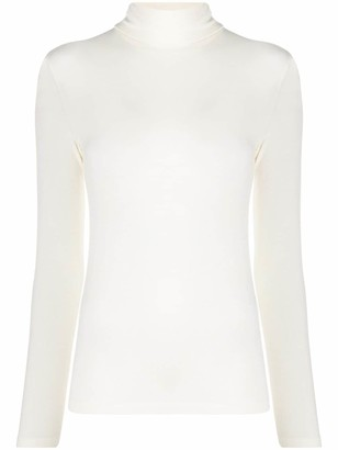 Stefano Mortari Fitted Roll-Neck Top