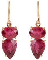 Irene Neuwirth Tourmaline & rose-gold earrings