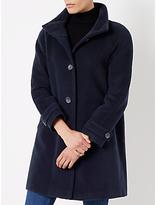 John Lewis Janet Swing Coat, Navy