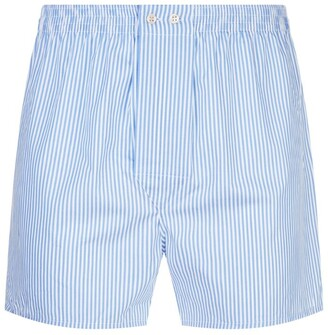 Derek Rose James Stripe Boxer Shorts