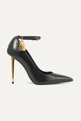 Tom Ford Leather Pumps - Black