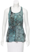 Vena Cava Sleeveless Printed Top
