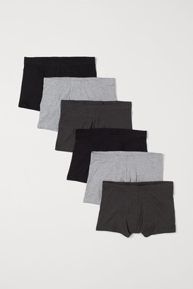 H&M 6-pack Short Boxer Shorts - Black