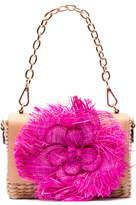 Frances Valentine Chick Raffia Crossbody Bag