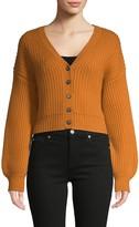 Naadam Wool & Cashmere Short Cardigan Sweater