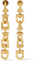 Eddie Borgo Fame Link Gold-plated Earrings - one size