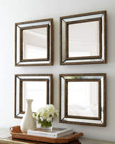 Horchow Two Norlina Square Wall Mirrors