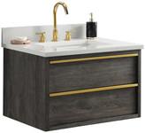 "Hudson Sterling Rivers Inc. 30"" Bathroom Vanity, Charcoal Gray"