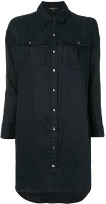 James Perse Oversized Military Shirt