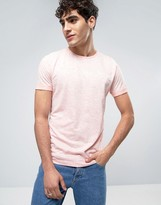 Calvin Klein Jeans Logo Tee In Marl