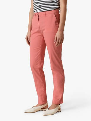 Jigsaw Slim Leg Chino Trousers, Candy Pink