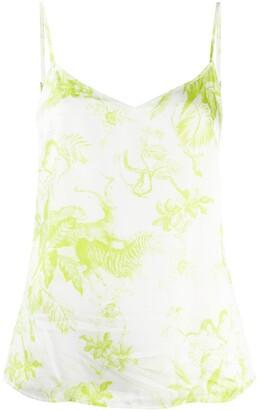 AllSaints Safari-Print Camisole Top