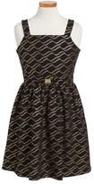 Blush by Us Angels Girl's Embellished A-Line Dress
