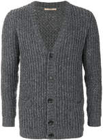 Nuur ribbed knit cardigan