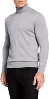 Neiman Marcus Men's Cashmere/Silk Turtleneck Sweater