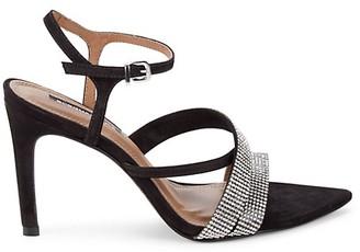 BCBGMAXAZRIA Ruby Rhinestone Embellished High Heel Sandals