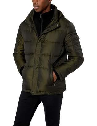 Calvin Klein Men's Alternative Down Puffer Jacket with Bib Outerwear