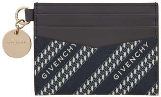Givenchy Navy Bond Card Holder