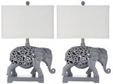 Safavieh Hatchi Sculpture Table Lamps (Set of 2)