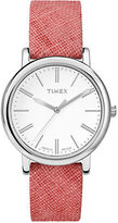 Timex Originals Linen-Strap Watch
