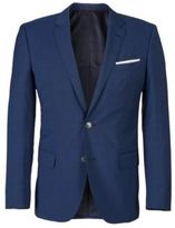 Hugo Boss Hutson/Gander Slim Fit, Italian Wool Suit 38R Blue