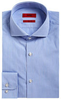HUGO Cotton Micro-Check Dress Shirt
