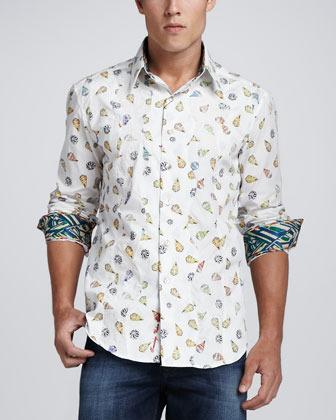Robert Graham Limited Edition Maca Bana Sport Shirt