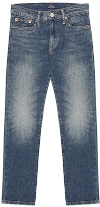 Polo Ralph Lauren Kids Straight stretch-denim jeans