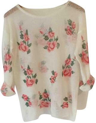 Ohne Titel White Cotton Knitwear for Women