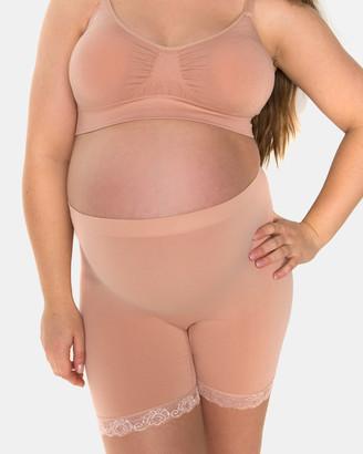 B Free Intimate Apparel Maternity Anti-Chafing Petite Cotton Shorts
