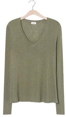 American Vintage Kobi 58 L S T Shirt Vintage Olive - S