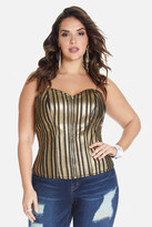 Fashion to Figure Cyra Metallic Stripe Corset