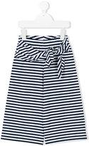 Il Gufo striped trousers - kids - Cotton/Spandex/Elastane - 5 yrs