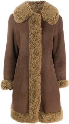 A.N.G.E.L.O. Vintage Cult 1970s Shearling Trimmed Coat