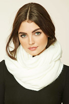Forever 21 Fuzzy Knit Infinity Scarf