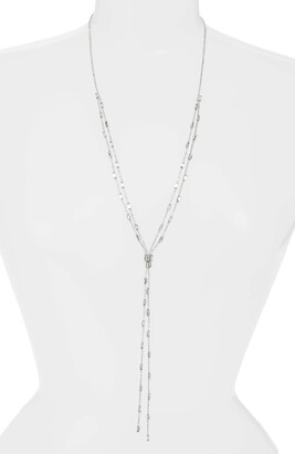 CRISTABELLE Crystal Baguette Y-Necklace