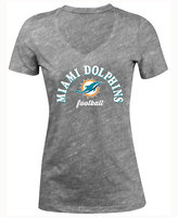 5th & Ocean Women's Miami Dolphins Checkdown LE T-Shirt