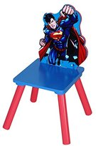 Superman Multicolored MDF/Rubber Kids Chair - 13 x 13 x 22 inches""