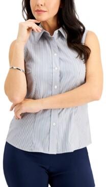 Kasper Cotton Oxford Shirt