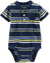 Carter's Striped Henley Bodysuit, Baby Boys (0-24 months)