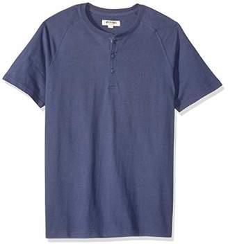 Goodthreads Short-sleeve Sueded Jersey Henley Shirt,US (EU XL-XXL)