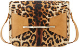 Elaine Turner Designs Kari Striped Cheetah Shoulder Bag