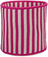 Beachcrest Home Sorrel Stripe Storage Fabric Basket