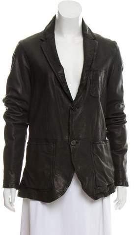 Neil Barrett Casual Leather Jacket w/ Tags