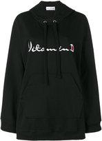 Drifter Ventus embroidered hoodie - women - Cotton - XS