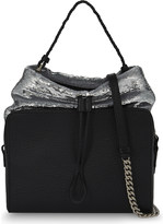 Maison Margiela Sequin top leather shoulder bag