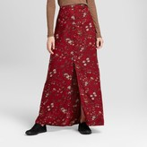 Mossimo Women's Button Front Maxi Skirt