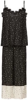 Ethereal London Black Kaya Loungewear Cropped